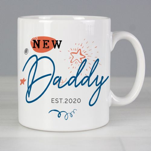 Personalised New Dad / Grandad Mug